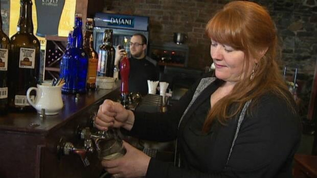Pub owner Brenda O'Reilly says the NLC's new licensing fees will hurt many small businesses.