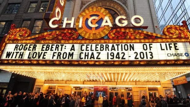 Actors, colleagues, family, friends and fans attended a memorial for late film critic Roger Ebert at The Chicago Theater on Thursday night.