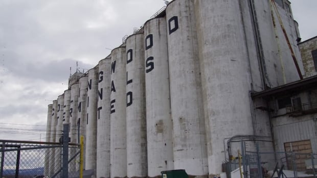 Collingwood's defunct grain terminals are located on the municipality's rapidly developing waterfront.
