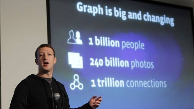 Facebook CEO Mark Zuckerberg unveiled the the graph search feature in January 2013.