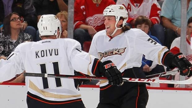 Matt Beleskey scored eight goals and five assists with a +2 rating and 56 penalty minutes in 42 games with the Ducks last season.