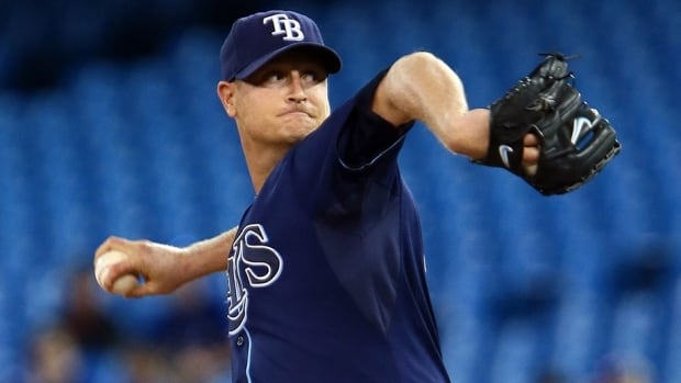 Rays Alex Cobb Throws For 1st Time Since Being Hit In