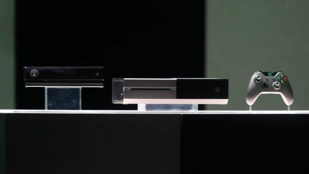 "The Xbox One, billed as an ""all-in-one home entertainment system,"" can be controlled using voice and gestures."