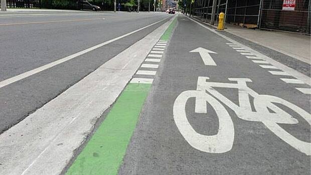 Bike lanes on Sherbourne Street in Toronto are set to officially open today.