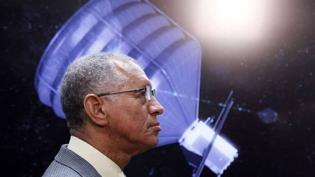 NASA Administrator Charles Bolden visits to the Jet Propulsion Laboratory in Pasadena, Calif., on Thursday, May 23, 2013.