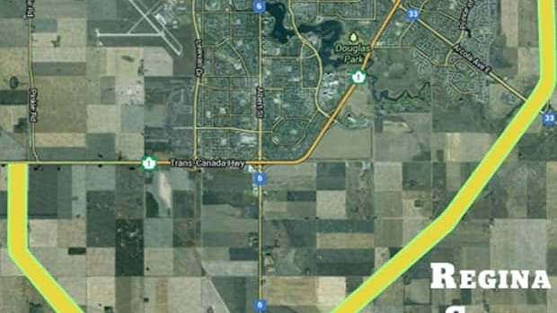 The province has approched a route for a new south bypass around Regina that's expected to alleviate traffic.