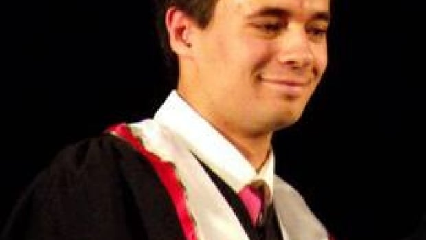 Chase Samuel at his high school graduation in 2012. Photo courtesy of Facebook.