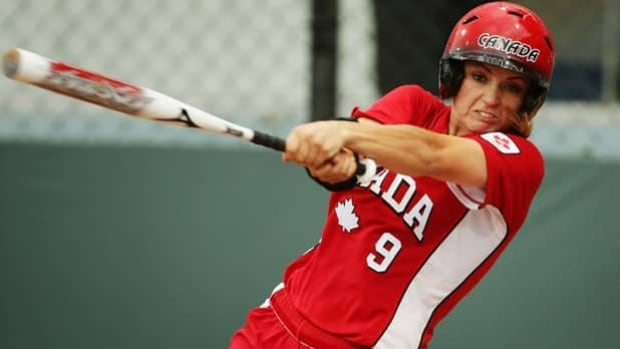 Caitlin Lever played for Team Canada at the 2008 Beijing Olympics, prior to softball's removal.