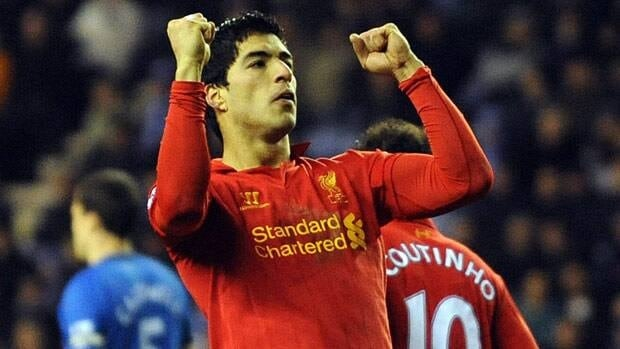 Liverpool's Luis Suarez, a controversial figure, was good enough on the pitch to be considered for the writers' honour.