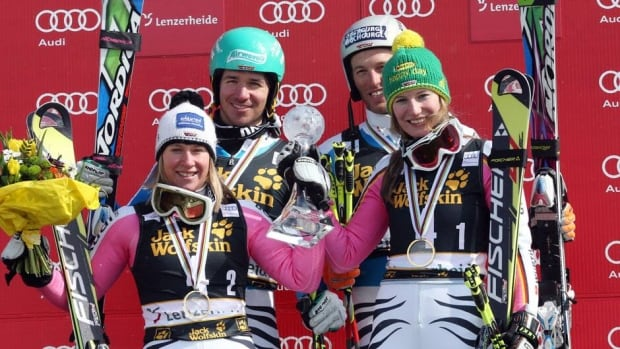 Germany had been third at the world championships last month when Sweden took the silver medal behind host nation Austria.