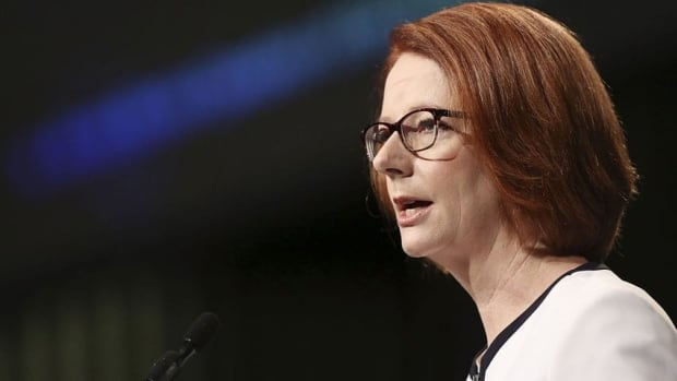 Julia Gillard remains Australia's prime minister after she threw her job open to a leadership ballot.