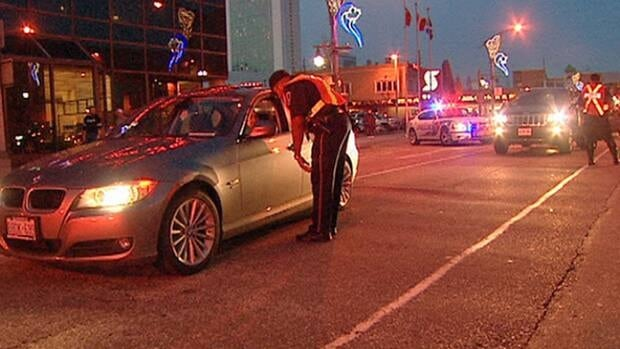 In 2012, Hamilton police checked total of 228,315 drivers for signs of impaired driving.