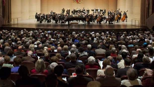 A Canadian Heritage poll found 83 per cent of Canadians had attended a live performance in the last year.