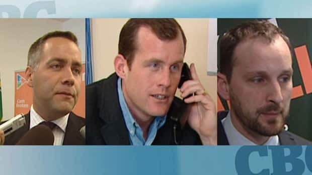 Three men are in the running for the leadership of the Saskatchewan NDP.