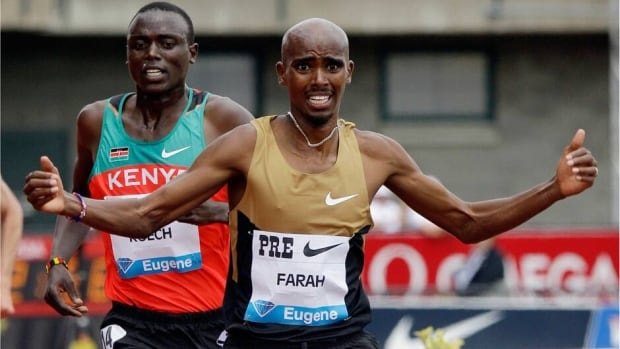 Mo Farah will defend the 5,000-metre title he won last year at the Prefontaine Classic.