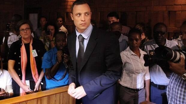 Oscar Pistorius, seen in court on Feb. 22, was ordered to turn over this passport as part of the bail requirements.