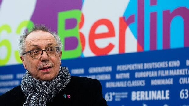 Dieter Kosslick, director of the Berlin International Film Festival, poses prior to announcing the annual Berlinale program in Berlin on Monday.