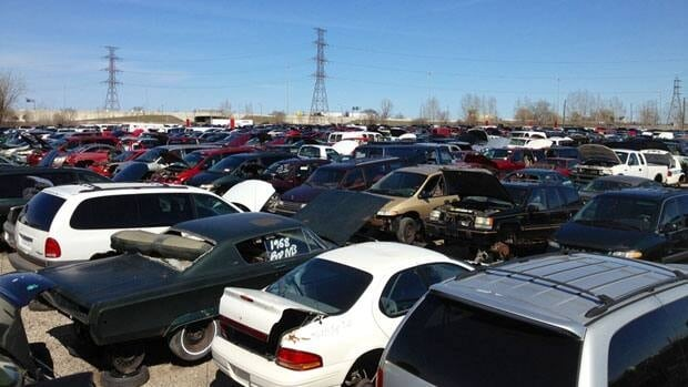 At the QEW and Burlington, where a majestic mountain of slag once stood, handy Hamiltonians with toolboxes now search for bargain rads, radios, roof racks.