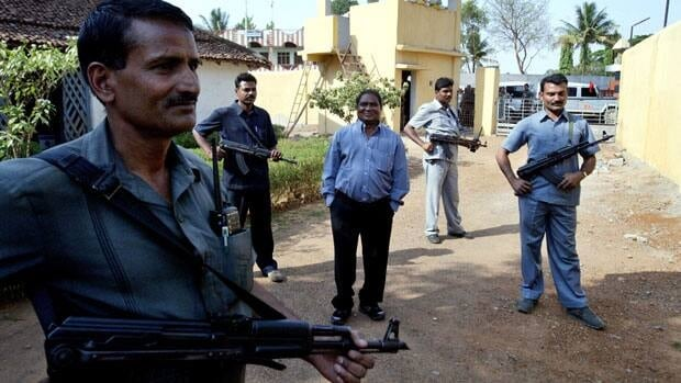 Mahendra Karma, centre, lawmaker and founder of Salwa Judum, the government-supported militia to combat Communist rebels known as Naxalites, was killed in a suspected rebel attack Saturday.