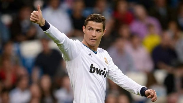 Real Madrid forward Cristiano Ronaldo has 33 goals in league play this season, second only to Lionel Messi of Barcelona.