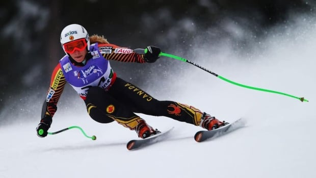 Larisa Yurkiw won the Canadian women's downhill championship this year, her first full season of competition after suffering a devastating knee injury in 2009.
