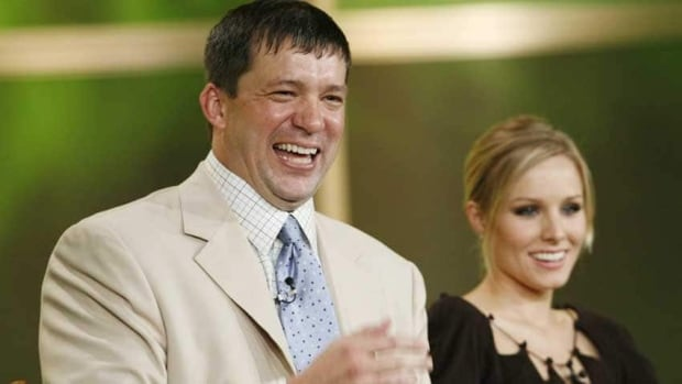 Veronica Mars creator Rob Thomas is shown with star Kristen Bell in 2006.