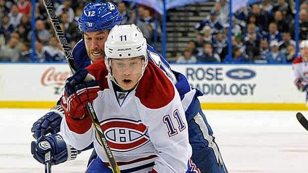 Former Hamilton Bulldog Brendan Gallagher is one of three finalists for the NHL's rookie of the year award.