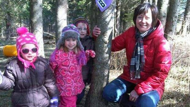 Lisa Brown is excited to open Atlantic Canada's first certified forest school in Roachville, N.B. where pre-school children will spent 85 per cent of their days outside.