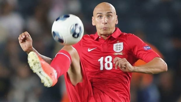 England's Jonjo Shelvey is seen competing during the UEFA European U21 championships, against Israel on June 11.