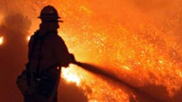Officials issued a fire weather advisory Sunday morning for central and southern Alberta.