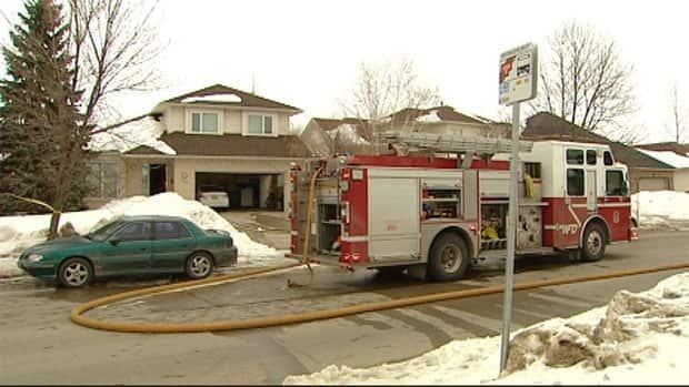 Fire crews responded to a fire in the 100 block of Radsdill Road that left $400,000 in damage.