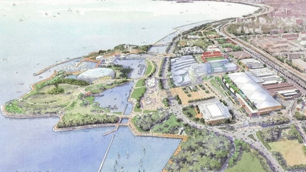 The developers say as part of their planned MGM Toronto complex, parking will be moved underground allowing CNE to take place closer to the water, surrounded by open green space, on what used to be a parking lot.