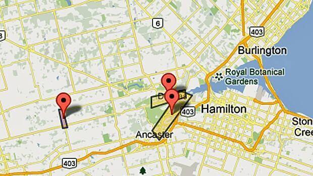 Freezing rain has led to power outages across Hamilton.
