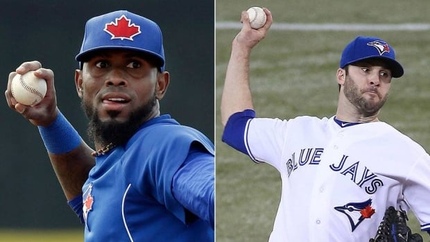 Shortstop Jose Reyes, left, and starting pitcher Brandon Morrow, right, began their rehab assignments with Class-A affiliate Dunedin (Fla.) on Monday night with mixed results. Reyes had two hits but Morrow allowed two runs in three innings and had a setback in his recovery from forearm tightness. He'll have it re-examined.