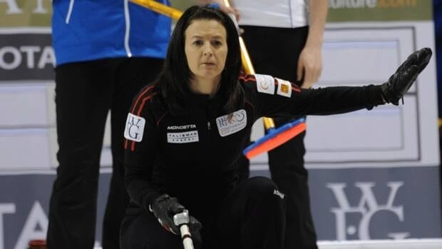 Edmonton's Heather Nedohin picked up a point for Team North America earlier on Friday, defeating Team World's Eve Muirhead of Scotland 17-11.