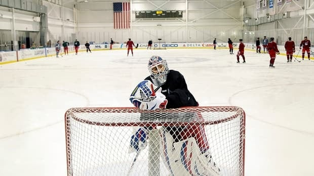 New York Rangers goalie Henrik Lundqvist is one of many NHLers happy to be back with his team. Lundqvist tweeted before the start of traning camp on Sunday.
