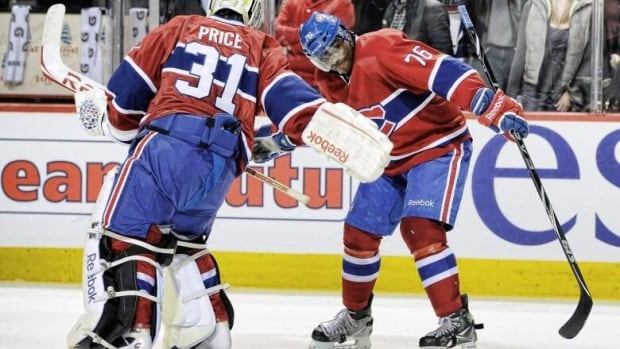 Goalie Carey Price and defenceman P.K. Subban are hockey's version of the odd couple. Price is a country boy who loves rodeo and George Strait, while Subban is an outgoing, charismatic city slicker who loves the spotlight. What they do have in common is the fact any prolonged success or failure of the Montreal Canadiens this season falls on their shoulders. Should either of them struggle, expect the team to struggle. (Richard Wolowicz/Getty Images)