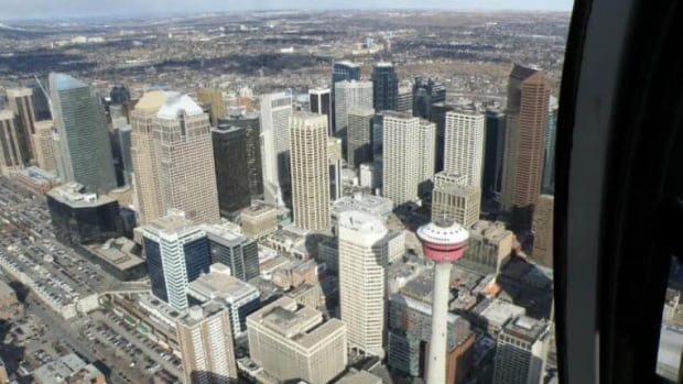 Downtown Calgary is home to the street with the third most expensive office rental space in the country.
