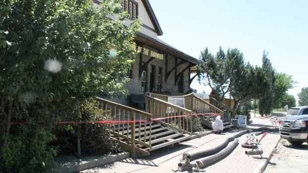 The Station, as the Museum of the Highwood is known, reopened in May 2012 after a fire destroyed much of the building in July 2010. Eighty per cent of the museum's remaining collection was destroyed in recent flooding.