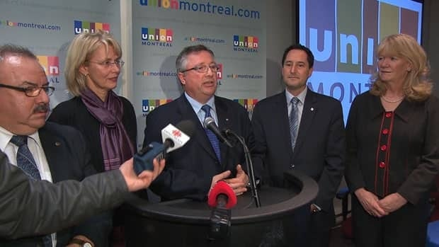 Interim Union Montréal party leader Richard Deschamps announced the dissolution of the party this afternoon.