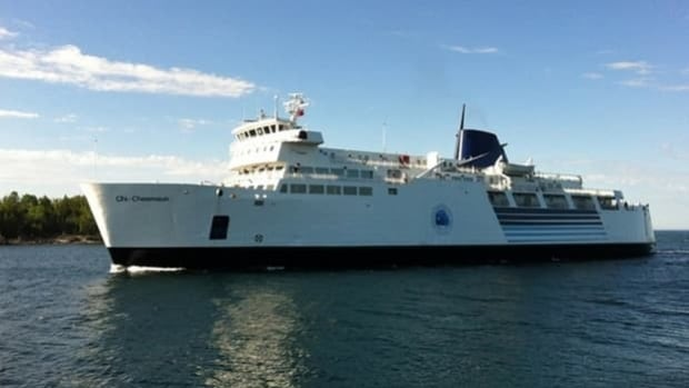 Fewer tourists are taking the Chi-Cheemaun Ferry this summer between Manitoulin Island and the Bruce Peninsula.
