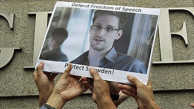 Hong Kong activists champion Edward Snowden's cause back in June. It was his first port of call but Beijing was not exactly welcoming.