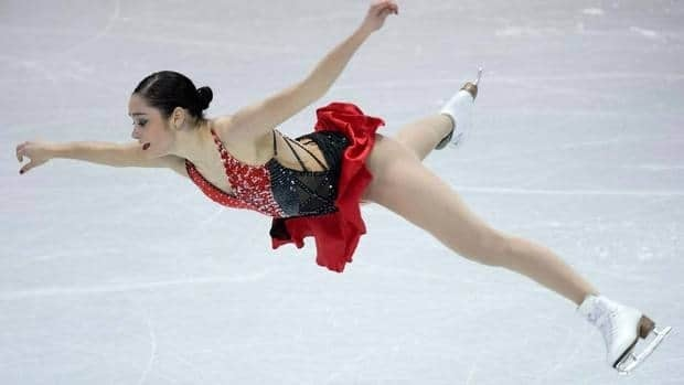 Kaetlyn Osmond of Canada achieved her main goal on Saturday night by finishing in the top-10 at the World Figure Skating Championships, guaranteeing two spots for the country at the Sochi Olympics in the ladies competition.