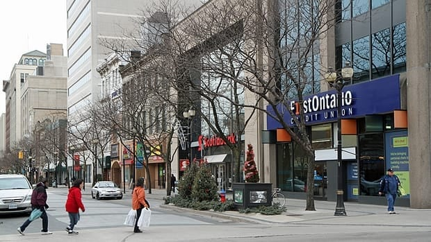 Property management company Wilson Blanchard has applied to demolish several buildings lining the south side of Gore Park. A Thursday meeting between Blanchard and city staff has left some councilors with an air of positivity moving forward.
