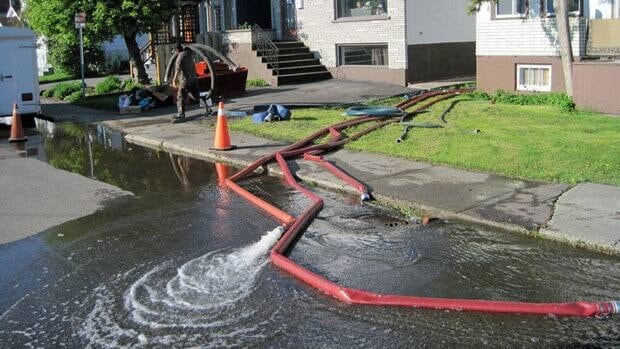 A recent deluge of rain resulted in more flooded basements in Thunder Bay. Homeowners are being urged to take advantage of a program that offers them rebates for installing sump pumps and backflow prevention valves.