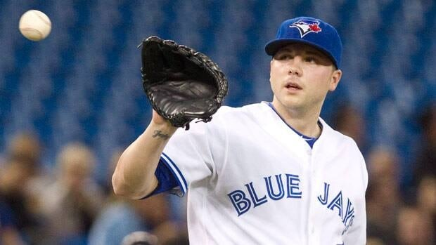 Aaron Laffey started and worked out of the bullpen for Toronto last season.