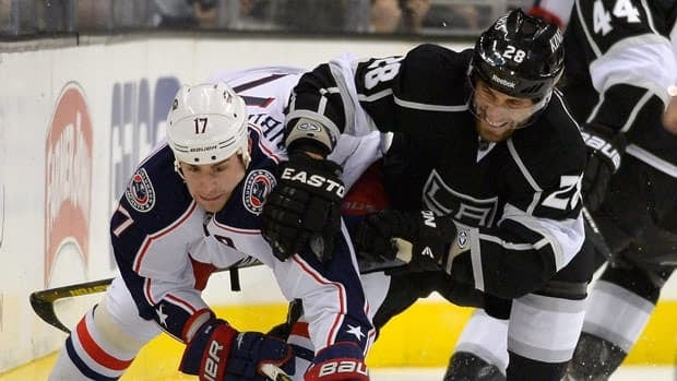 Columbus Blue Jackets centre Brandon Dubinsky, left, returns just as the club is on the verge of its longest winning streak in six years.