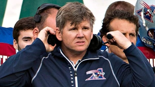 The Alouettes fired first-year head coach Dan Hawkins after he led the CFL team to a 2-3 start this season. Montreal halted a three-game losing skid last week, defeating Edmonton.