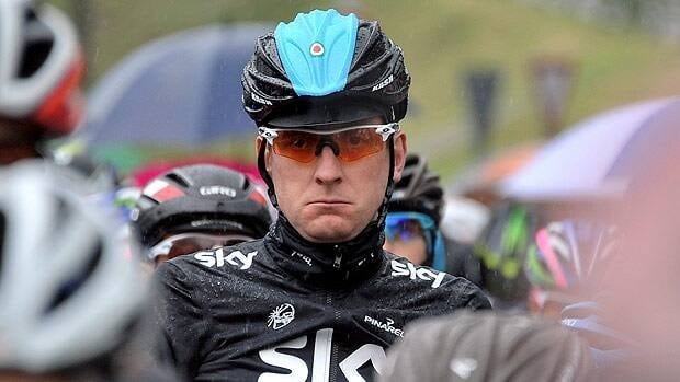 Britain's Bradley Wiggins, seen on May 16 during Giro d'Italia, won gold at the London Games in a banner 2012.