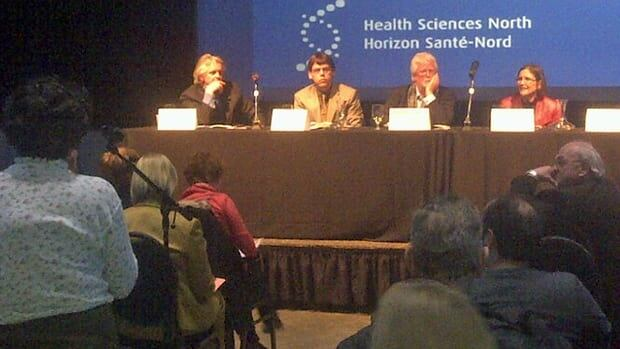 Health Sciences North in Sudbury held a public forum Tuesday night to discuss the problems that lie ahead with designing cities for seniors.